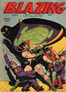 Blazing Comics 2 cover