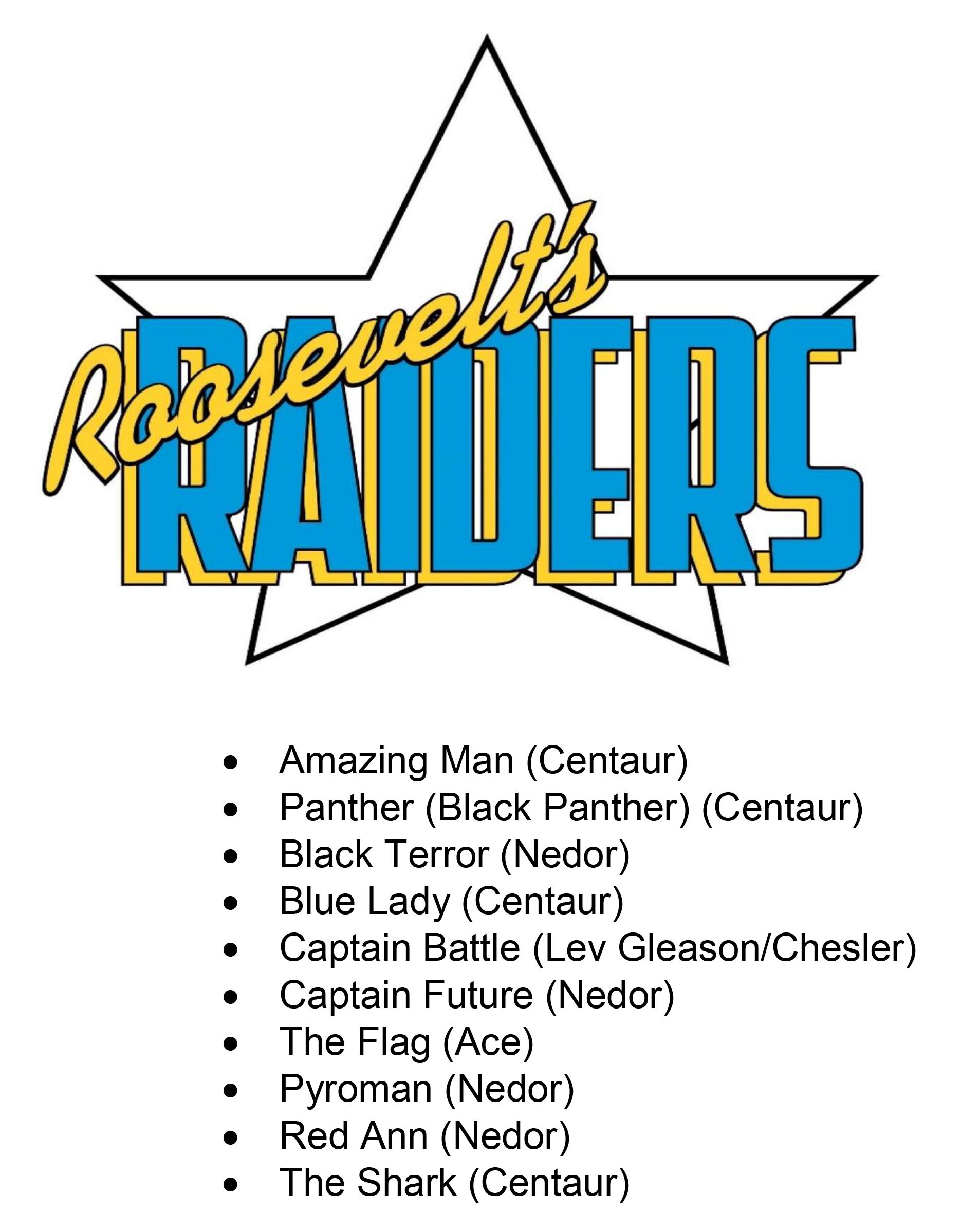Roosevelt's Raiders